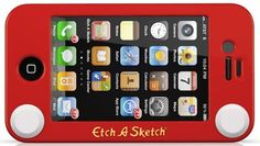 You need this for your iphone...you looooved etch-a-sketch when you were little