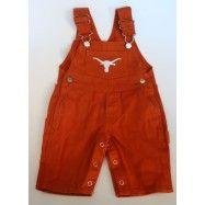 Texas Longhorn Burnt Orange Overalls