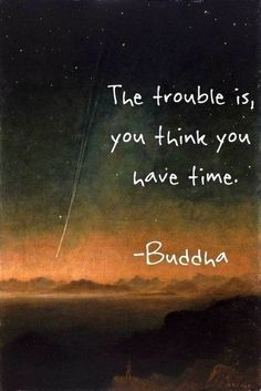 """""""The trouble is, you think you have time"""" - Buddha. 20 Less Known Travel Quotes To Inspire You To See The World."""