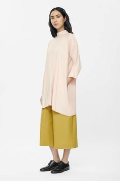 COS | High-neck A-line Tunic