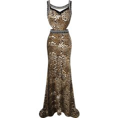 2016 New Arrival Angel Fashions Women Beaded Rhinestones Leopard Sweep Train Hollow Out Party Dresses Prom Gown Women Party Dress Work Christmas Party Dress From Mandyfashion, $42.78  Dhgate.Com