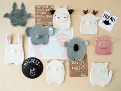 Diy Clay, Clay Crafts, Diy And Crafts, Animal Crafts For Kids, Kids Crafts, Cute Clay, Ceramic Animals, Diy Décoration, Clay Projects