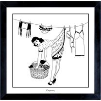 50s Housewives Art Print Peggy Small