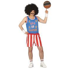 Disfraz de Jugador de Basket Americano. Compra el disfraz de jugador de baloncesto al mejor precio y sin moverte de casa.