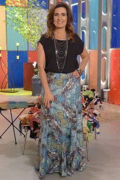 50 Fashion, I Love Fashion, Fashion Outfits, Womens Fashion, Maxi Skirt Outfits, Tie Dye Outfits, Casual Frocks, Moda Chic, Tie Dye Skirt