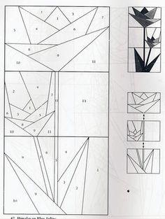 patrón flores