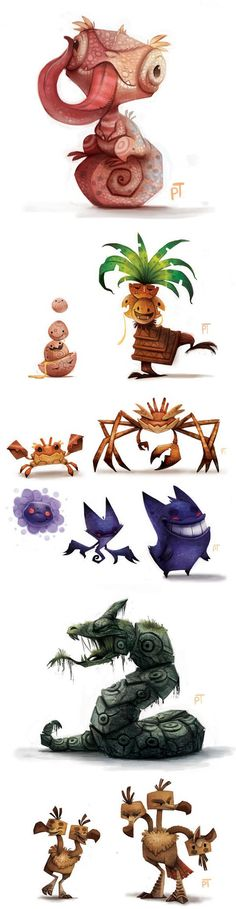 Pokemon Re-imagined By Piper Thibodeau - The Meta Picture