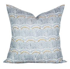 Faris pillow cover in Silver by sparkmodern on Etsy
