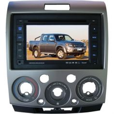"6.2"" Mazda BT-50 DVD Player with touch screen, USB, SD, AM/FM radio, TV, Bluetooth, Ipod and GPS map with 2G SD card"