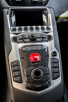 Aventador center console