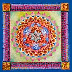 Energy Healing Mandala by Eitan Kedmy