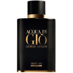 Giorgio Armani Limited Edition Acqua di Gio Profumo Special Blend Eau... ($95) ❤ liked on Polyvore featuring beauty products, fragrance, giorgio armani perfume, eau de parfum perfume, edp perfume, eau de perfume and giorgio armani