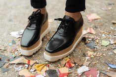 Stella McCartney platform brogues.