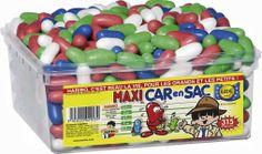 """Bonbons HARIBO """"Maxi Car en Sac AP"""" (boite complète de 315 pièces) - Alimentaire"""