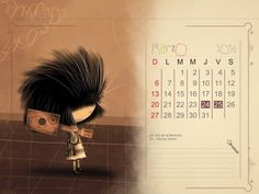 Calendario 2016 mes a mes del calendario puro pelo: Almanaques para descargar con imágenes para WhatsApp – Imágenes para whatsapp