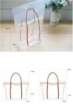 Plastic illust bag 30 set M50
