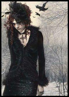 Crows ~ ♥ #vampires #fantasy #art