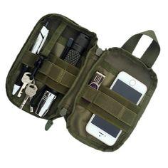 EDC MOLLE Military Waist Pack/Pocket Organizer