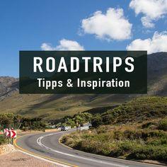 Inspiration & Tipps mit Routen für Roadtrips.