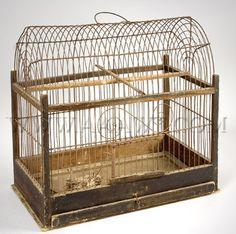 AAAWT Main House Antiques Galleries - Bird Cage, Folk Art