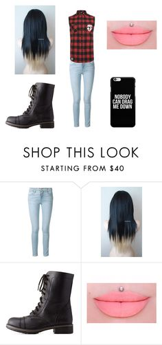"""""""Untitled #63"""" by martinezjorge ❤ liked on Polyvore featuring beauty, Frame Denim, Mikey and Charlotte Russe"""
