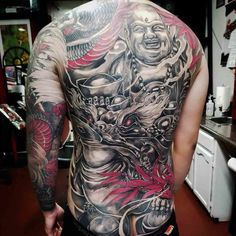 back tattoo chinese Back Tattoos For Guys, Back Tattoo Women, Tattoos For Women, Body Art Tattoos, I Tattoo, Tatoos, Back Pieces, Male Body, Tattoo Designs