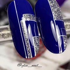 Diy Acrylic Nails, Glitter Nail Art, Gel Nail Art, Nail Art Diy, Easy Nail Art, Nail Polish, Nail Art Designs Videos, Nail Art Videos, Pretty Nail Art