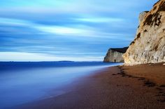 Dreamy seascape at Bat's head and Durdle Door beach in Dorset, England Photography Workshops, Landscape Photography, Harry Rocks, Dorset England, Jurassic Coast, A Level Art, World Heritage Sites, Geology, Road Trip