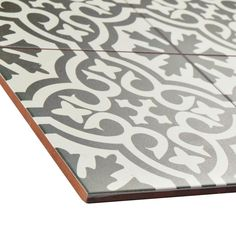 Merola Tile Berkeley Charcoal 17-5/8 in. x 17-5/8 in. Ceramic Floor and Wall Tile (11.1 sq. ft. / case)-FPEBRKC - The Home Depot