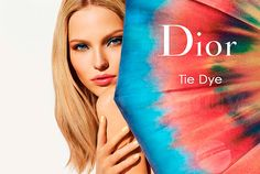 5246c7494 Presenting a range of sunny shades that really bring the sunshine home, the  new Dior Tie Dye Summer 2015 Limited Edition beauty collection interprets  the ...