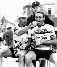 Tour de France 1964 Tom Simpson, Henry Anglade ANP Foto