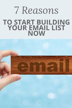 Have you been putting off starting or building your email list? Don't wait any longer! Email marketing is a hugely powerful tool for your online business. Did you know that email has 3 times the ROI of social media?? Check out this post for yet more reasons why you need to start building your email list now!