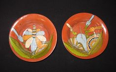 Two 2 Beautiful Tlaquepaque Mexican Pottery by MexicanPottery :D