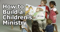How you can develop a children's ministry from the bottom up. Or, if you've already begun, how you can turn it around. #kidmin