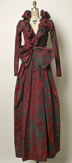 Dress, Evening  Yves Saint Laurent, Paris  (French, founded 1962)