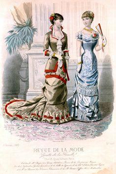 1880 Plate Revue de la Mode