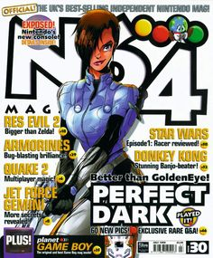 (I used to buy this religiously) Neo Tokyo, Perfect Dark, Nintendo News, Sims Games, Retro Video Games, Metroid, Legend Of Zelda, Live Action, Sailor Moon
