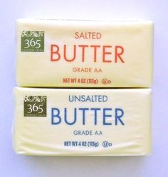 Salted Butter vs. Unsalted Butter, Does It Matter?