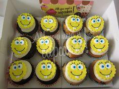 Bob Esponja Cupcake Recipes, Cupcake Cakes, All You Need Is, Spongebob, Cake Pops, Cake Decorating, Birthdays, Cookies, Ale