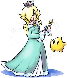 ''Mario+Luigi'' RPG Style: Rosalina (and Luma) by Master-Rainbow on DeviantArt