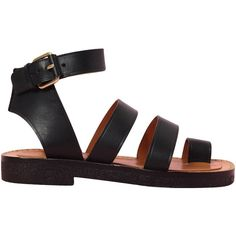 Celine2011 ❤ liked on Polyvore featuring shoes, sandals, flats, black, black flats, flat pumps, kohl shoes, flats black shoes and flat heel shoes
