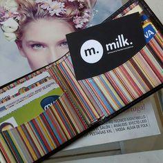 Tarjetas Milk