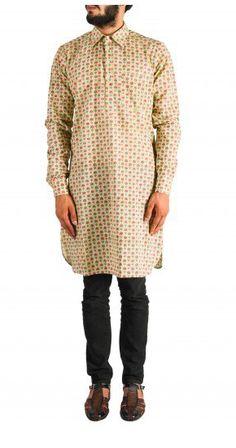 Team up this printed cotton Kurta with denims, churidars or pajamas. Shop now! Nehru Jacket For Men, Nehru Jackets, Wedding Store, Men's Collection, Printed Cotton, Shop Now, Menswear, Pajamas, Tunic Tops