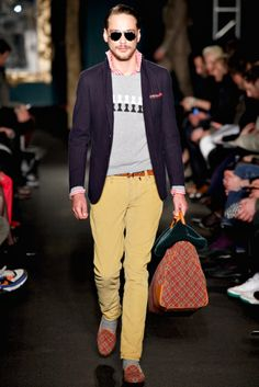 Michael Bastian | Fall 2012 Menswear Collection | Style.com