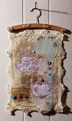 20 Arts and Crafts Gif : 20 Arts and Crafts Gif Arts and Crafts Gif . 20 Arts and Crafts Gif . Snowman Gif Find On Gifer Sewing Art, Sewing Crafts, Sewing Projects, Textiles, Fabric Art, Fabric Crafts, Creation Deco, Fabric Journals, Linens And Lace