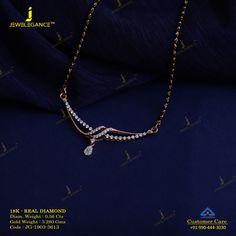 Get In Touch With us on Diamond Mangalsutra, Gold Mangalsutra Designs, Gold Earrings Designs, Gold Jewellery Design, Necklace Designs, Wedding Jewelry Sets, Bridal Jewelry, Beaded Jewelry, Diamond Jewelry
