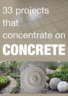 33 awesome projects using concrete!