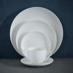 Bone China Lilly Dinnerware Set & Geometric Dinnerware Set | Dinnerware White dinnerware and ...