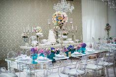 Inesquecível Casamento   Casamento   Wedding   Decoração   Decoração Lilás e Azul   Decoração delicada   Decoração clássica   Flores   Flowers   Decoração com Orquídeas