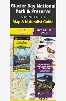Contains a National Geographic Map of Glacier Park National Park, and a fan folded pocket Naturalist Guide with accurate and life like illustrations of the local wildlife.